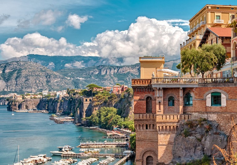 Incredible views over the coast of Sorrento, Italy