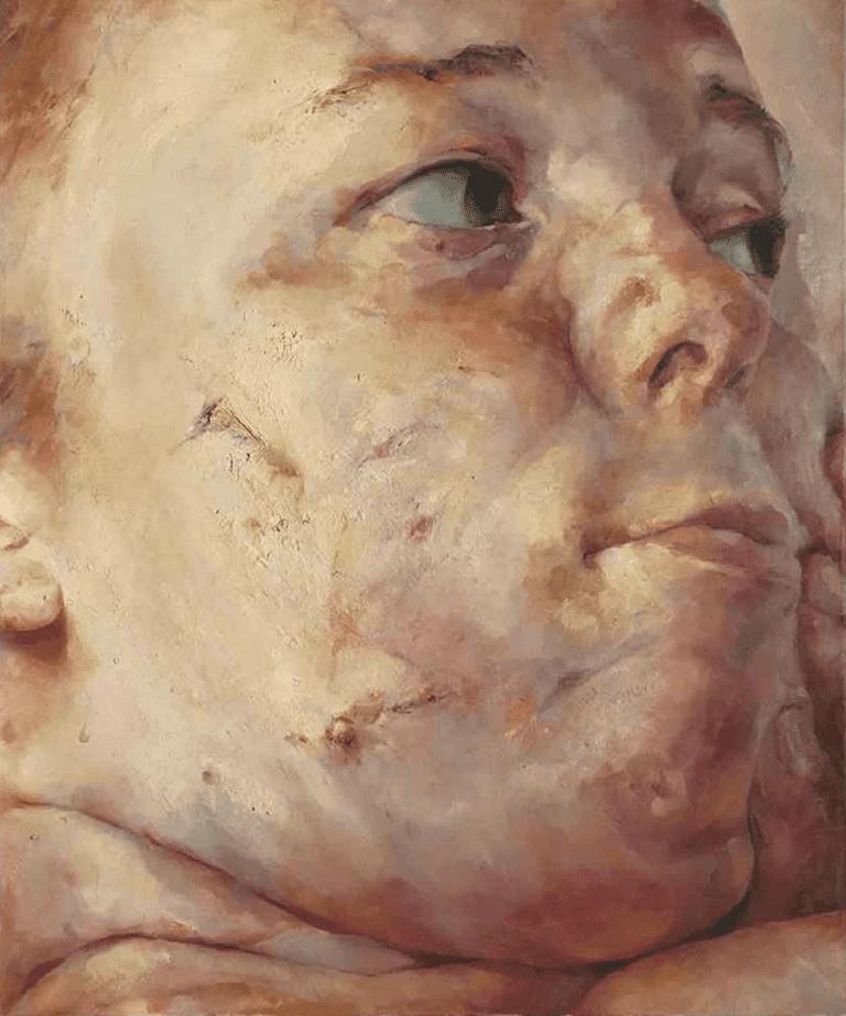 [ S ] Jenny Saville - Interfacing (1992) | © cea +/Flickr