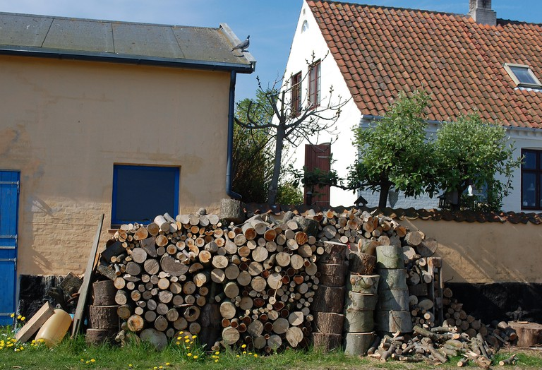 Houses with Logs in Svaneke
