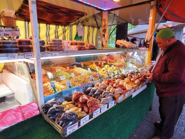 Neukolln-Maybachufer Market