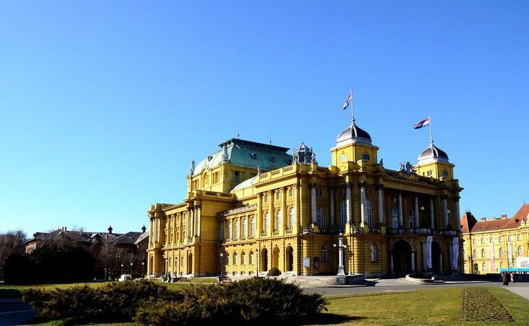 Opera House, Zagreb, Croatia © Pixabay