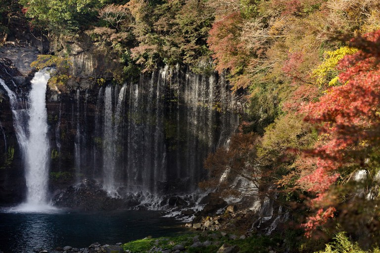 Shiraito Falls near Karuizawa