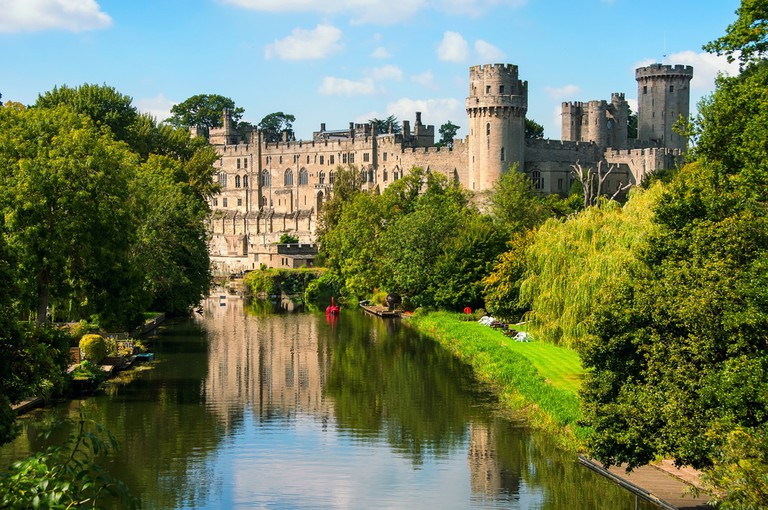 Warwick Castle- built in 11th century now a major touristic attraction