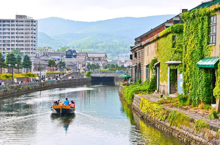 Boat ride through Otaru Canal