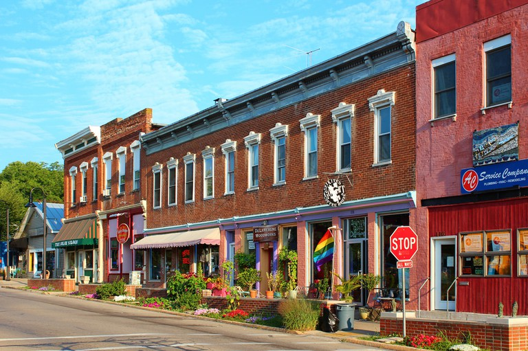 Downtown Yellow Springs, Ohio