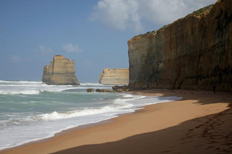 Twelve Apostles at the Port Campbell National Park, Great Ocean Road, Australia