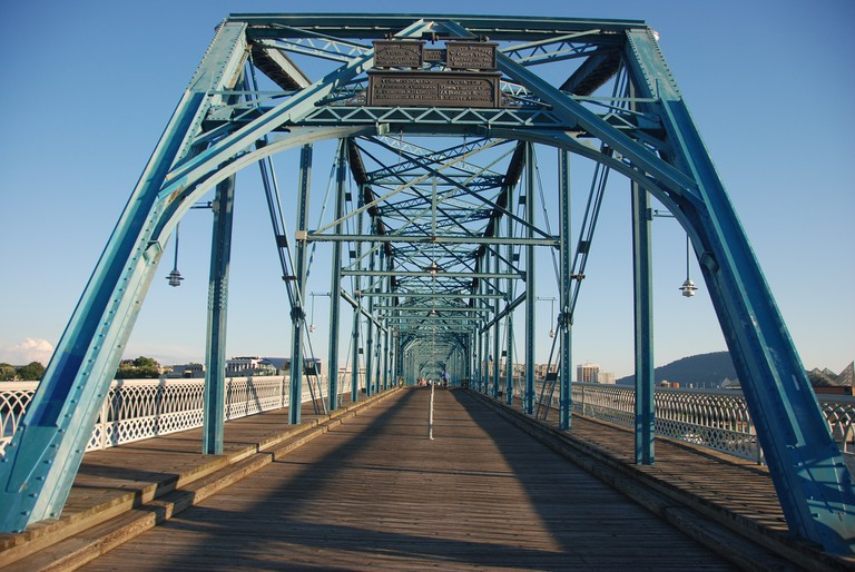 Chattanooga Bridge, Tennessee Chattanooga