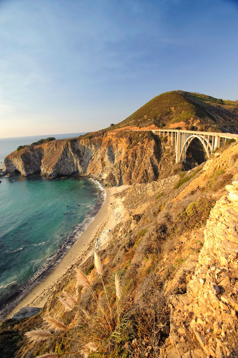 Big Sur Pacific Coastline, Bixby Bridge and Highway 1, California
