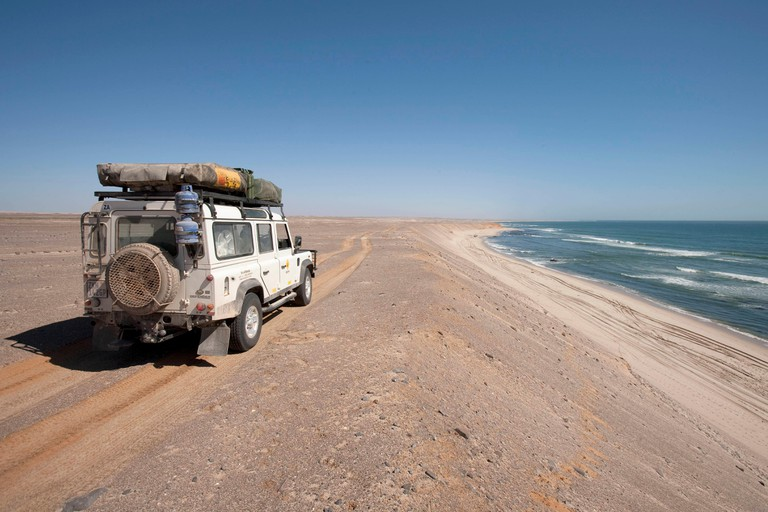Beach on the in Skeleton Coast National Park, Namibia. Photo: Tom Schulze
