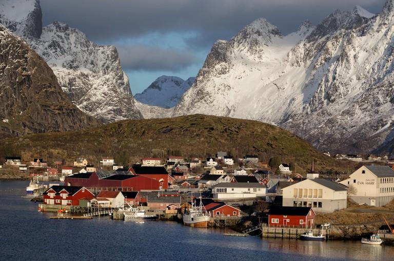 Reine town, Lofoten Islands, Norway, Scandinavia