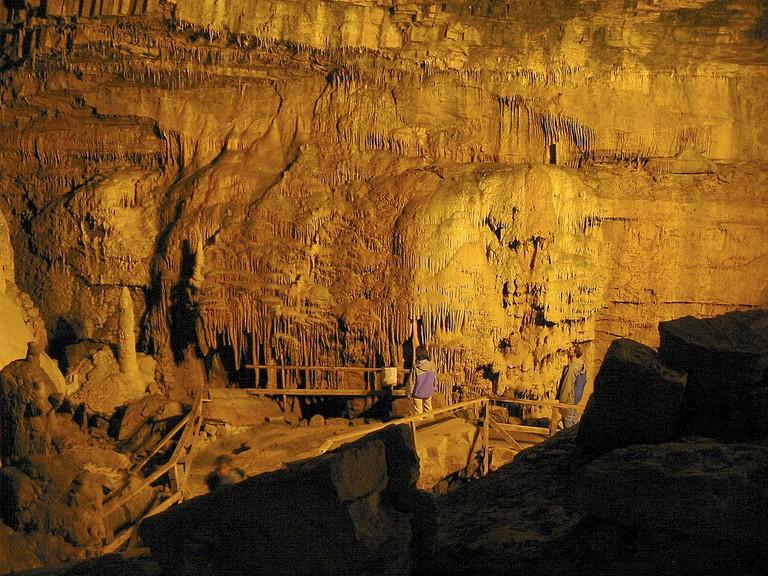 Lost World Caverns in Lewisburg, West Virginia