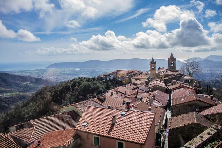 Fosdinovo in Tuscany, Italy