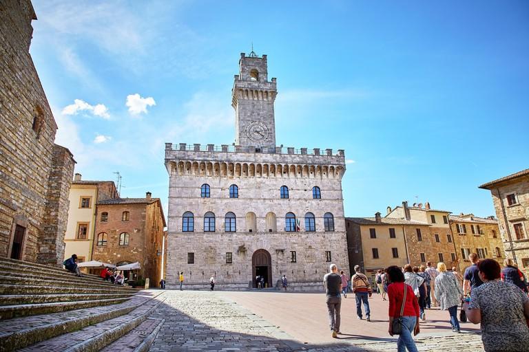 Piazza Grande, Montepulciano, Italy
