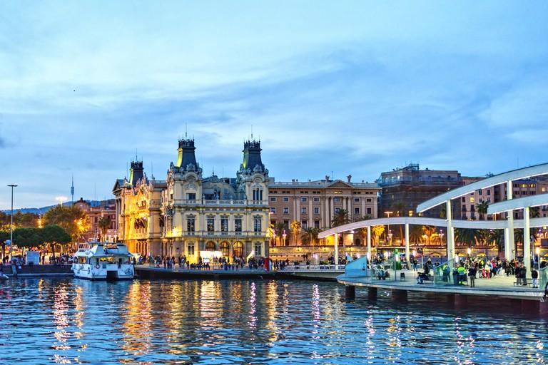 Barcelona Marina View| ©CastecoDesign/Shutterstock
