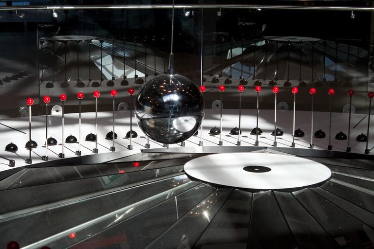 Foucault's pendulum at the Copernicus Science Centre in Warsaw