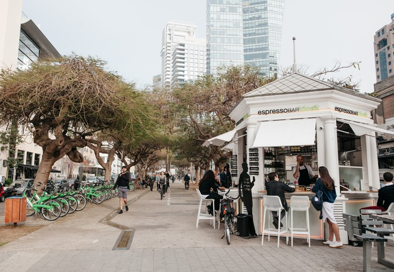 Rothschild Boulevard is Tel Aviv's first official road