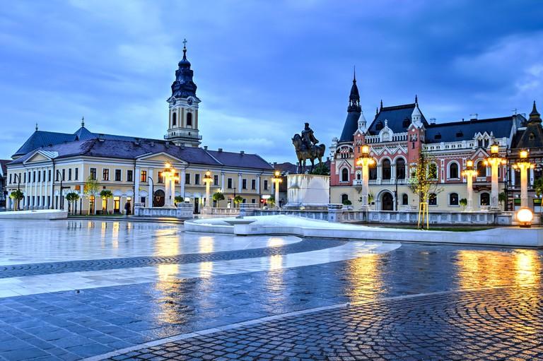 Union Square in Oradea, Romania I