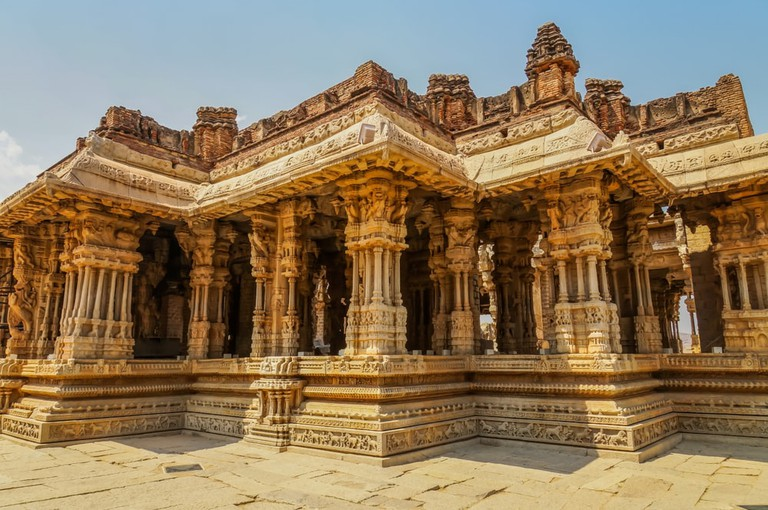 Vittala Temple in Hampi, Karnataka, India