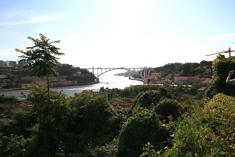 View from Solar Do Vinho Do Porto