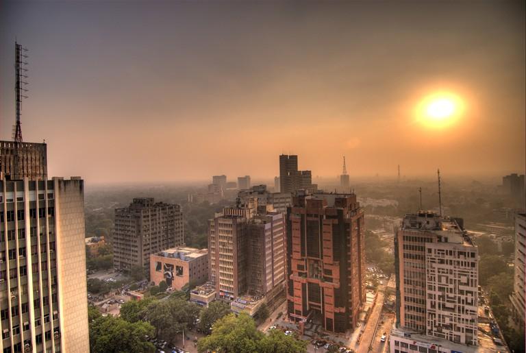 Connaught Place in Delhi © Ville Miettinen