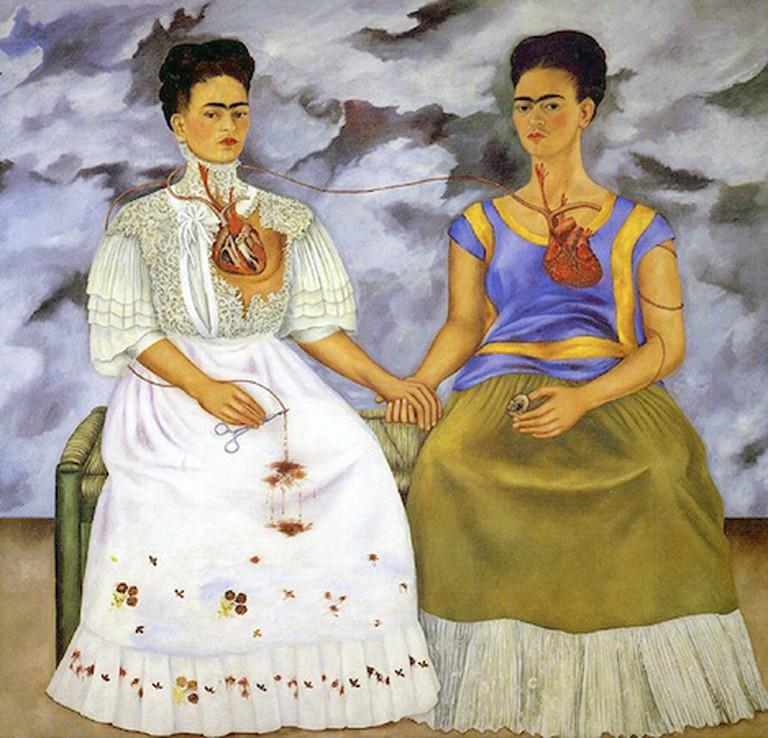 Las Dos Fridas, Frida Kahlo   © Ed Uthman/Flickr