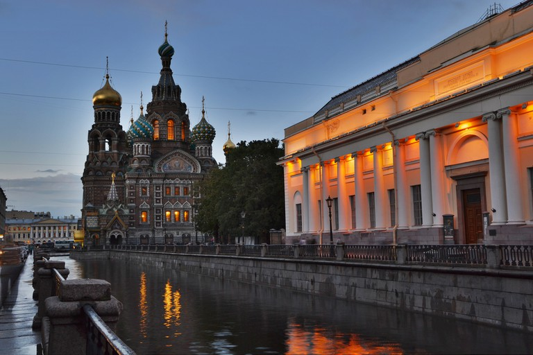 Church on the Spilled Blood in St. Petersburg © 2benny