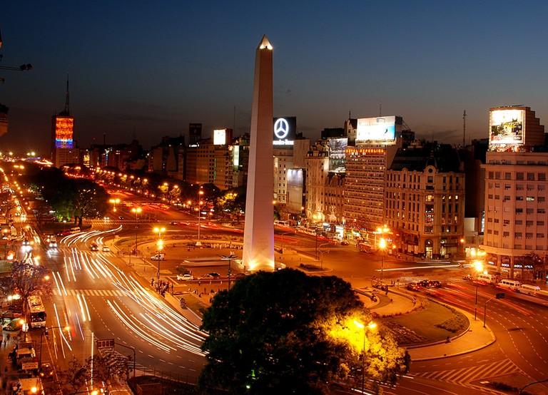Buenos Aires at Night | © Nestor Galina/WikiCommons