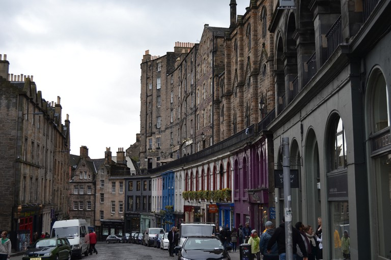 Edinburgh Grassmarket | © eenwall/Flickr