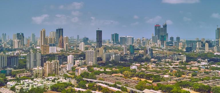 Mumbai Skyline Wide | © Vidur Malhotr/Flickr