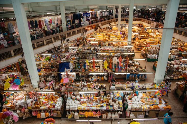 Warorot Market (Kad Luang), Chang Wat Chiang Mai