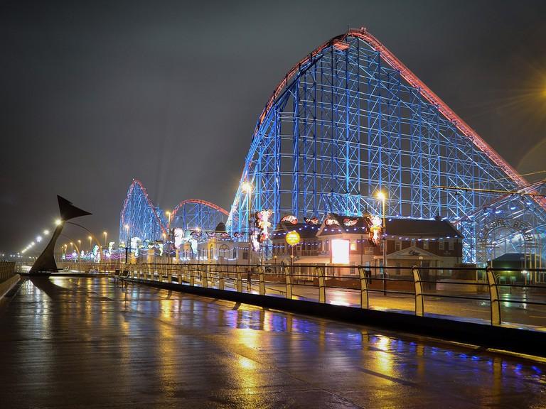 Rollercoaster in Blackpool  © Pixabay