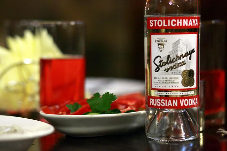 Russian Vodka| ©  Yuri Samoilov/Flickr