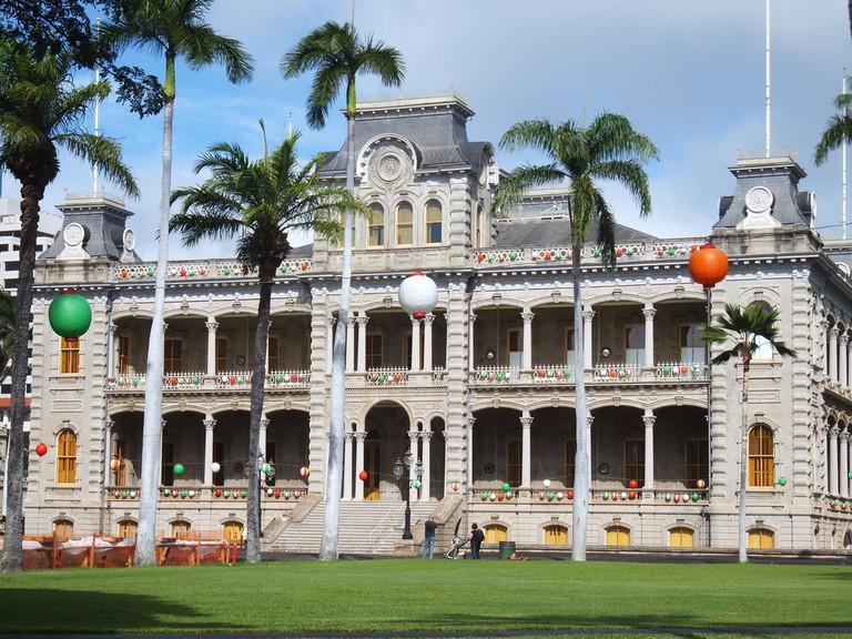 Iolani Palace I