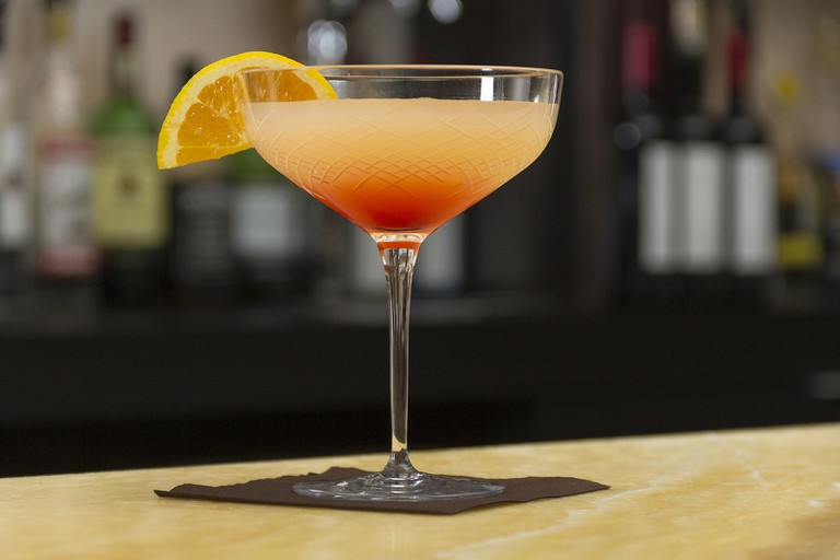 Sip an enticing cocktail while soaking up the atmosphere