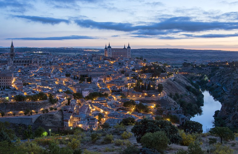 Toledo at Night | © Chensiyuan/WikiCommons