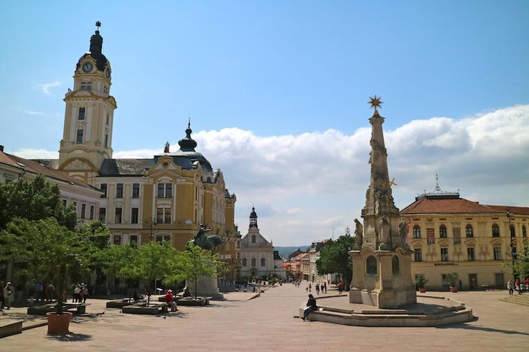 Szechenyi square   © Erik Cleves Kristensen/Flickr