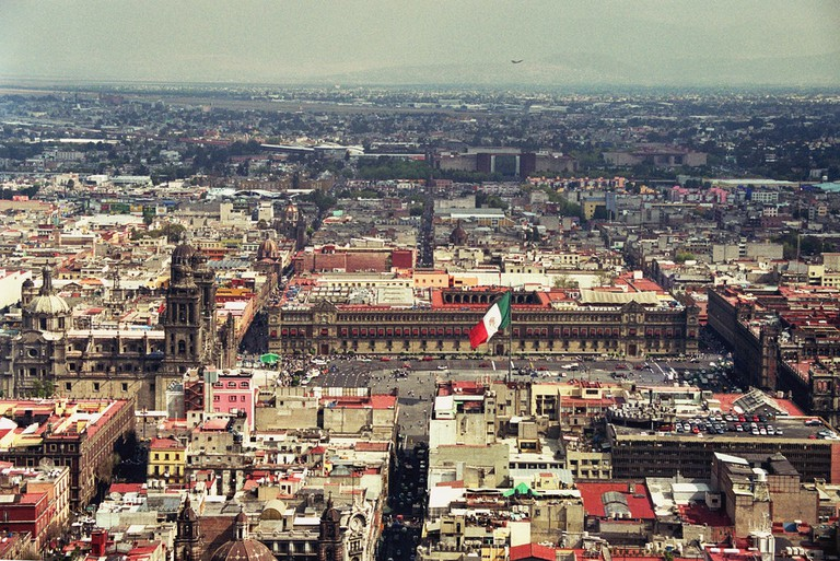 View of Zócalo