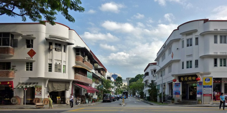Tiong Bahru main retail street © Paytun Chung/Flickr