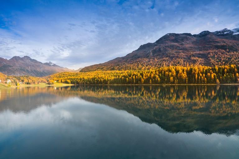 Lake St. Moritzt |© mendhak /Flickr