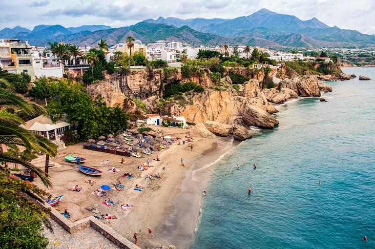 Nerja in Costa del Sol, Andalusia, Spain