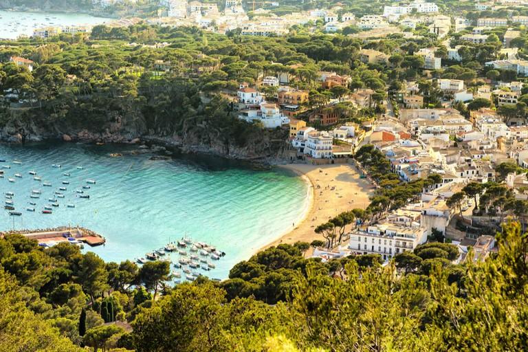 Seaside resort of Llafranc, Palafrugell, Spain