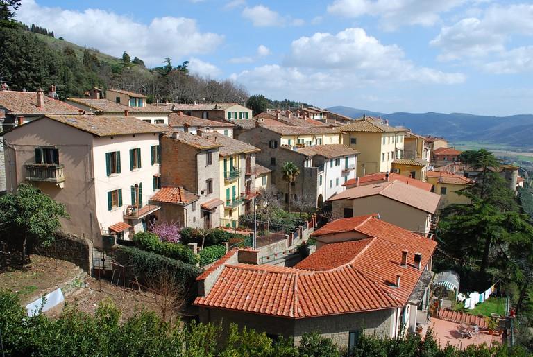 Cortona hillside