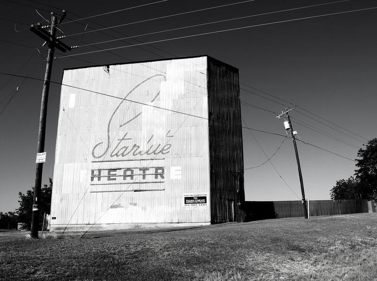 Starlite Drive-In Theater, Brenham, Texas   © Patrick Feller/Flickr
