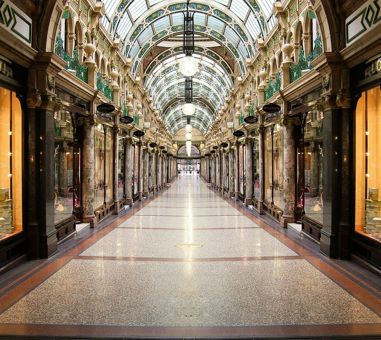 The Ridonkolously Expensive Queens Arcade, Leeds