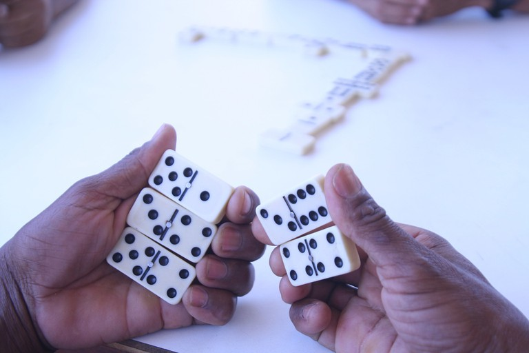 Play some Dominoes/