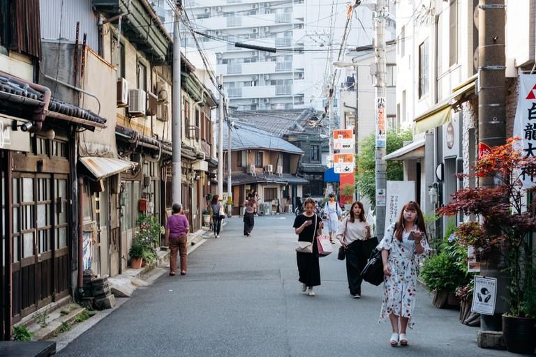 Nakazakicho neighbourhood-Osaka-Japan