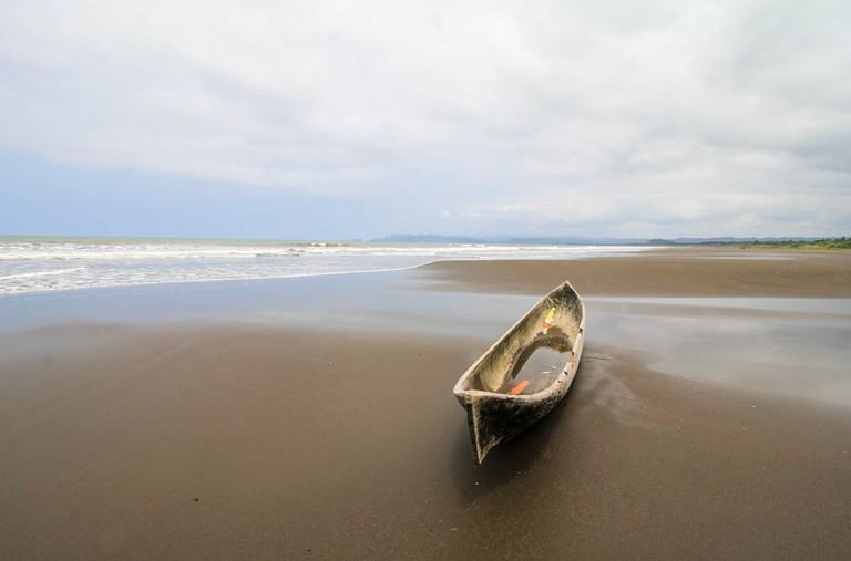 Nuquí Beach in Chocó, Colombia