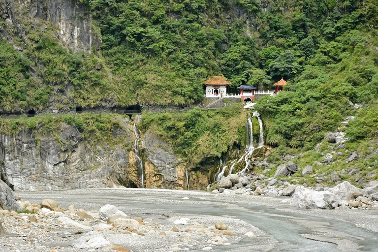 Changchun temple in Taroko National Park, Taiwan, Asia | © elwynn/Shutterstock