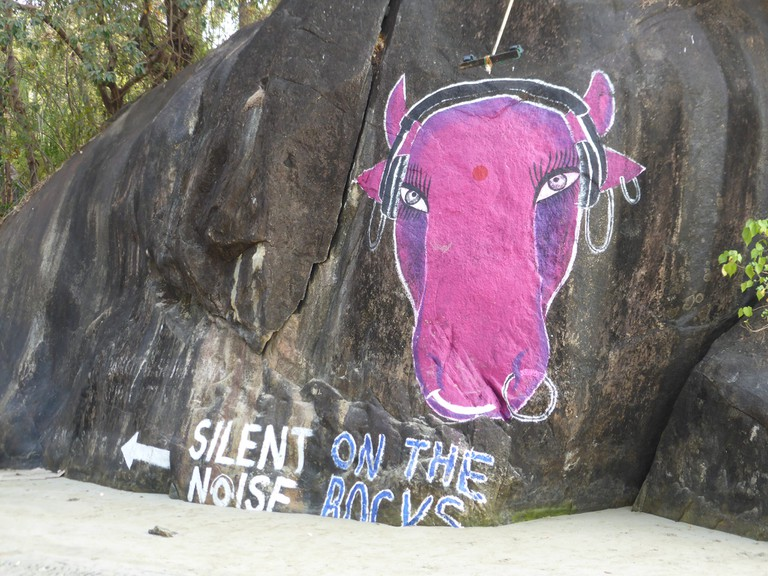 Silent Noise Disco, Goa