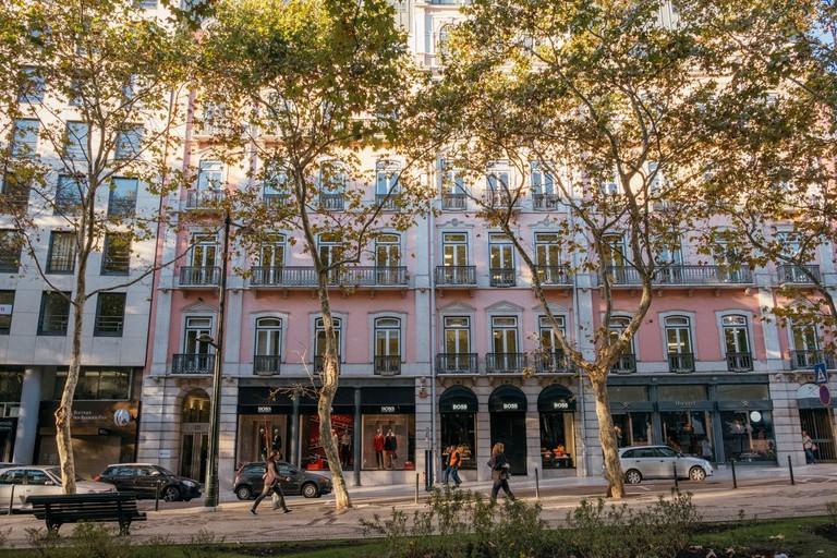 Shopping in Avenida de Liberdade